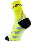 ROYAL BAY® Neon kompresné ponožky HIGH-CUT - žlté