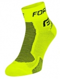FORCE ponožky ONE fluo/black